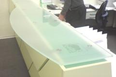 Theken Glasplatte